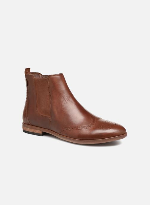 Bottines et boots Kickers TARRAGON Marron vue détail/paire