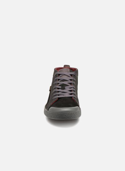 Sneaker Kickers TRIPAD schwarz schuhe getragen