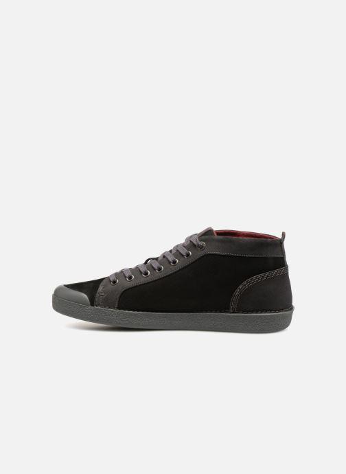 Sneaker Kickers TRIPAD schwarz ansicht von vorne