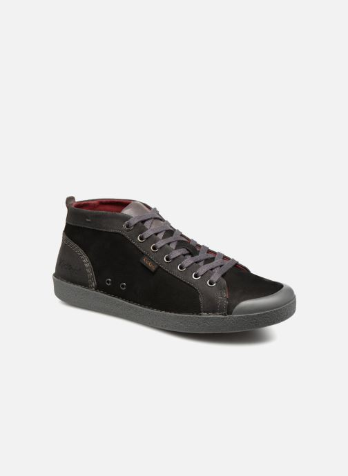 Sneakers Kickers TRIPAD Zwart detail