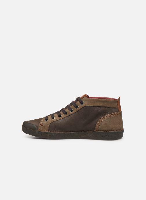Sneakers Kickers TRIPAD Marrone immagine frontale