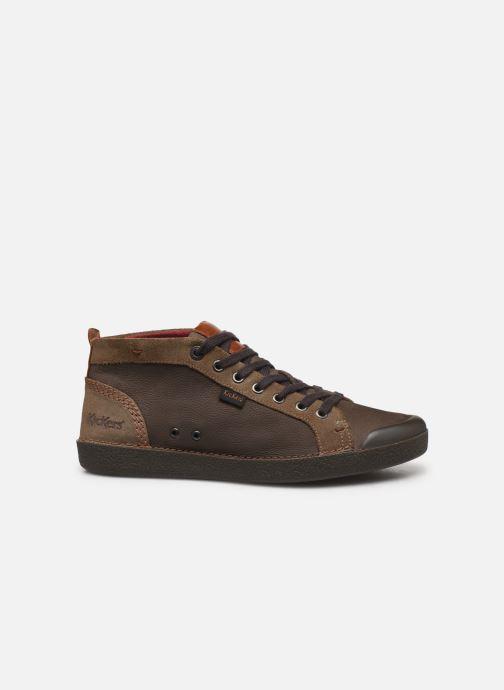 Sneakers Kickers TRIPAD Marrone immagine posteriore