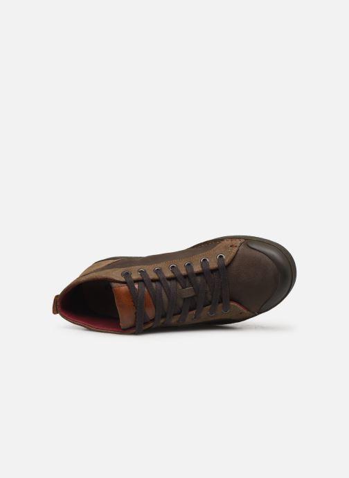 Sneakers Kickers TRIPAD Marrone immagine sinistra