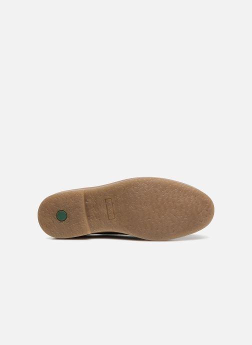 Chaussures à lacets Kickers OXFORK M Bordeaux vue haut