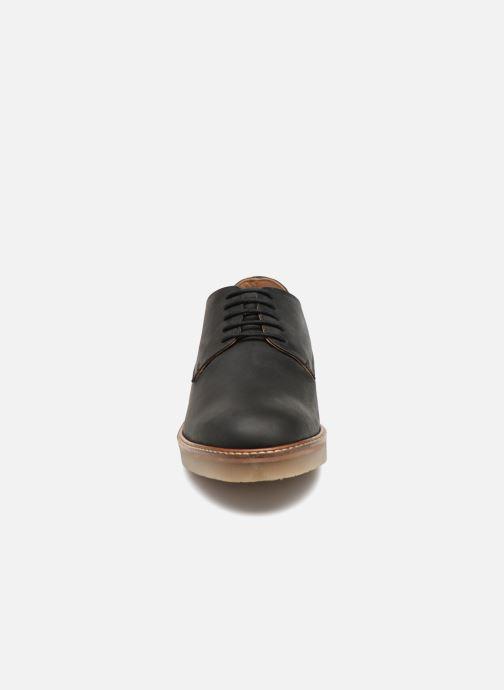 Zapatos con cordones Kickers OXFORK M Negro vista del modelo