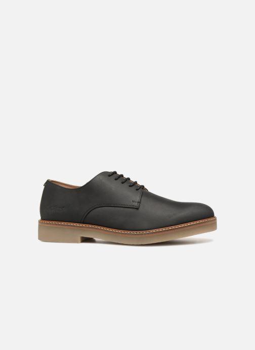 Zapatos con cordones Kickers OXFORK M Negro vistra trasera