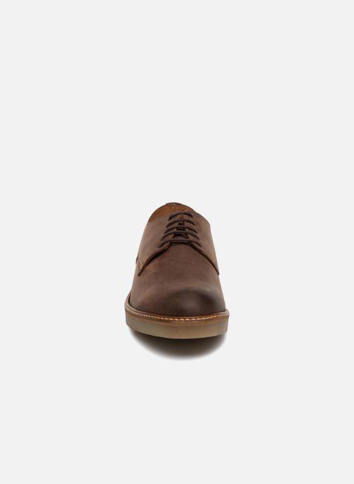 Schnürschuhe Kickers OXFORK M braun schuhe getragen