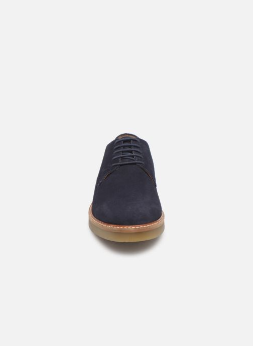 Chaussures à lacets Kickers OXFORK M Bleu vue portées chaussures