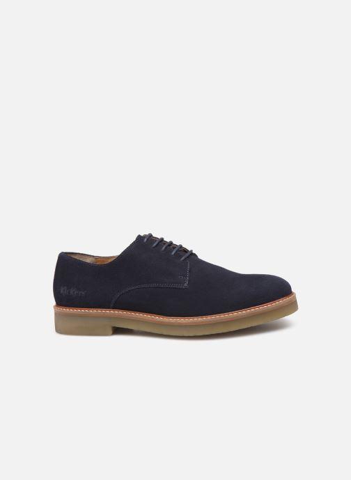 Chaussures à lacets Kickers OXFORK M Bleu vue derrière