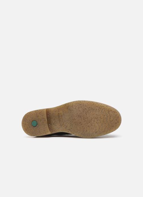 Chaussures à lacets Kickers OXFORK M Bleu vue haut