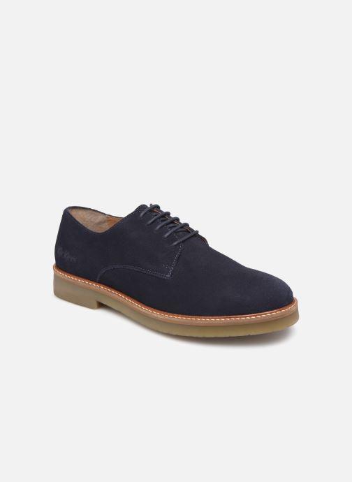 Chaussures à lacets Kickers OXFORK M Bleu vue détail/paire