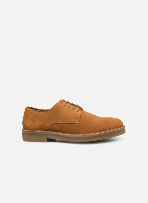 Chaussures à lacets Kickers OXFORK M Marron vue derrière
