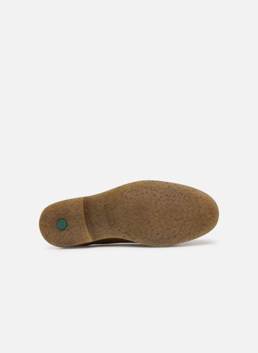 Zapatos con cordones Kickers OXFORK M Marrón vista de arriba