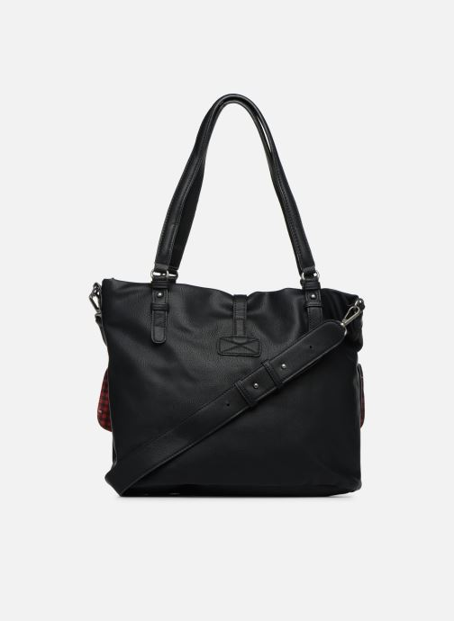 Handbags Tamaris Bernadette Shopping Bag Black front view
