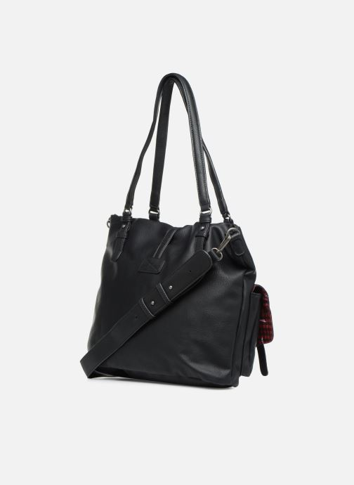 Handbags Tamaris Bernadette Shopping Bag Black view from the right