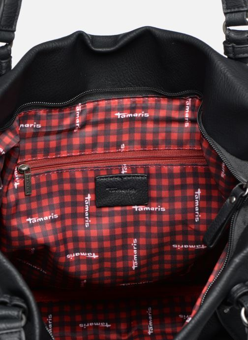 Handbags Tamaris Bernadette Shopping Bag Black back view