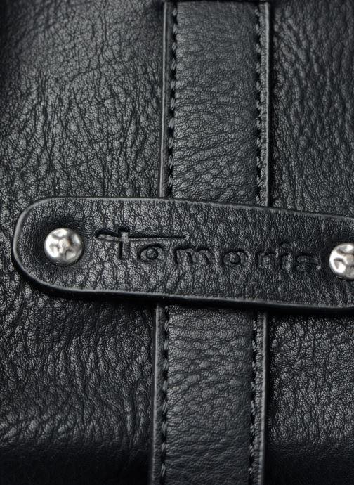 Handtassen Tamaris Bernadette Shopping Bag Zwart links