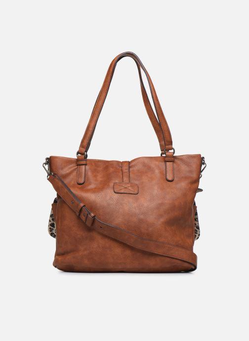 Bolsos de mano Tamaris Bernadette Shopping Bag Marrón vista de frente