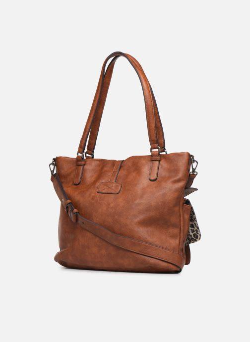 Sacs à main Tamaris Bernadette Shopping Bag Marron vue droite