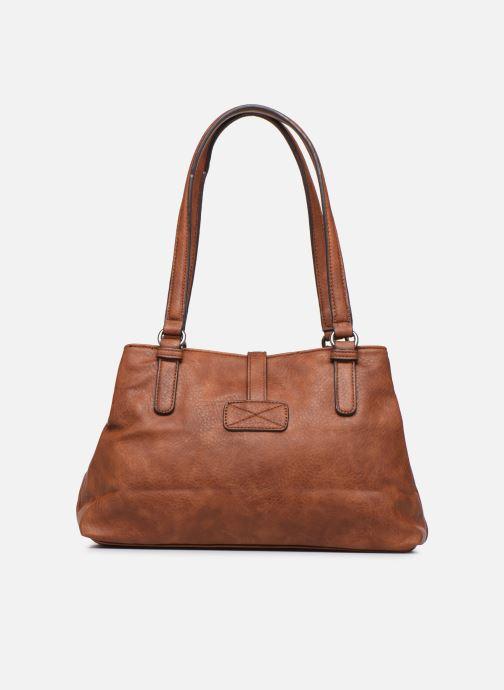 Handtaschen Tamaris Bernadette Shoulder Bag braun ansicht von vorne