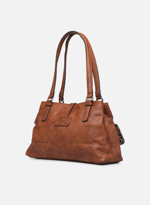Handtaschen Tamaris Bernadette Shoulder Bag braun ansicht von rechts