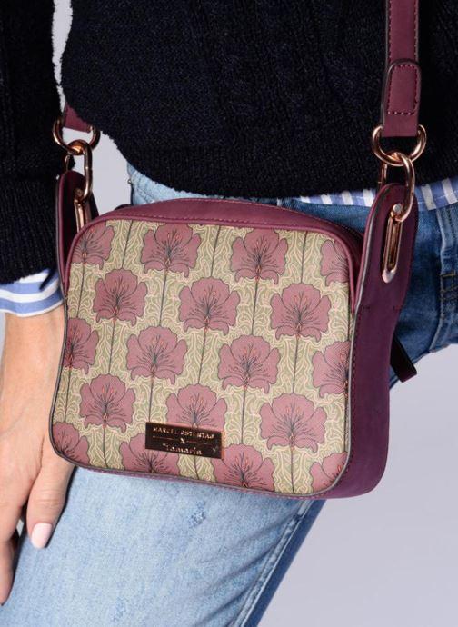 Bolsos de mano Tamaris Fiorella Crossbody Bag Vino vista de arriba