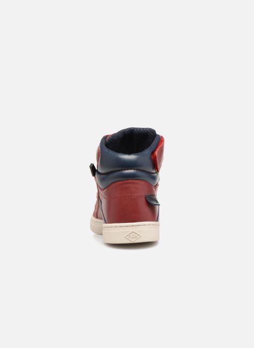 Sneaker P-L-D-M By Palladium Veleda K rot ansicht von rechts