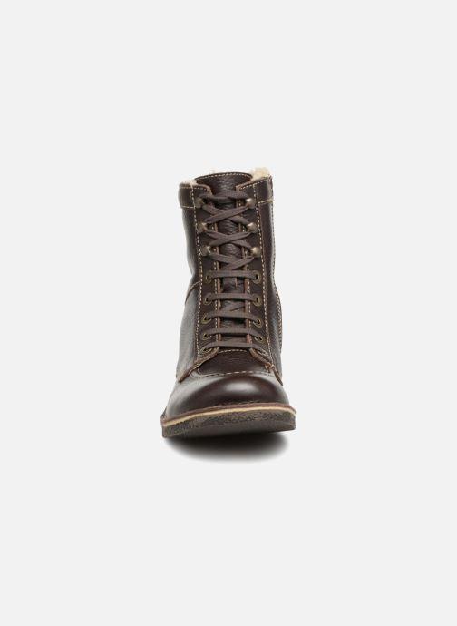 Bottines et boots Kickers KICKSTONERY Marron vue portées chaussures