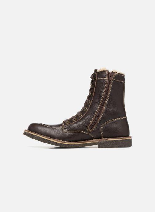 Bottines et boots Kickers KICKSTONERY Marron vue face