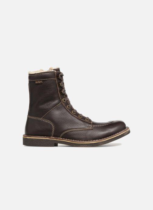 Bottines et boots Kickers KICKSTONERY Marron vue derrière