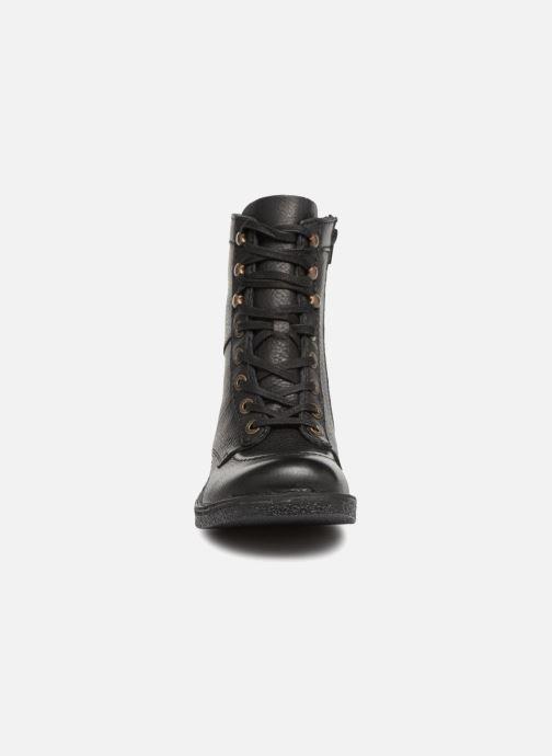 Bottines et boots Kickers KICKSTONERY Noir vue portées chaussures