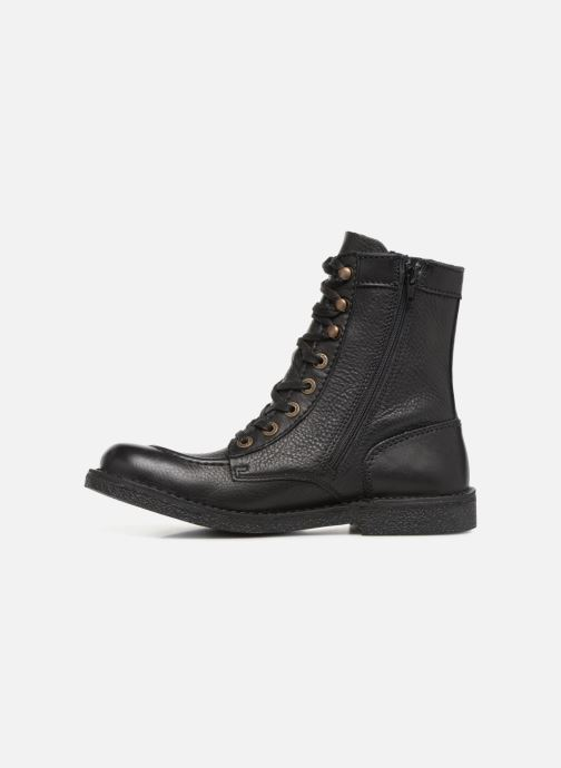 Bottines et boots Kickers KICKSTONERY Noir vue face