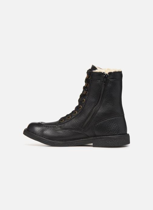 Boots en enkellaarsjes Kickers KICKSTONERY Zwart voorkant