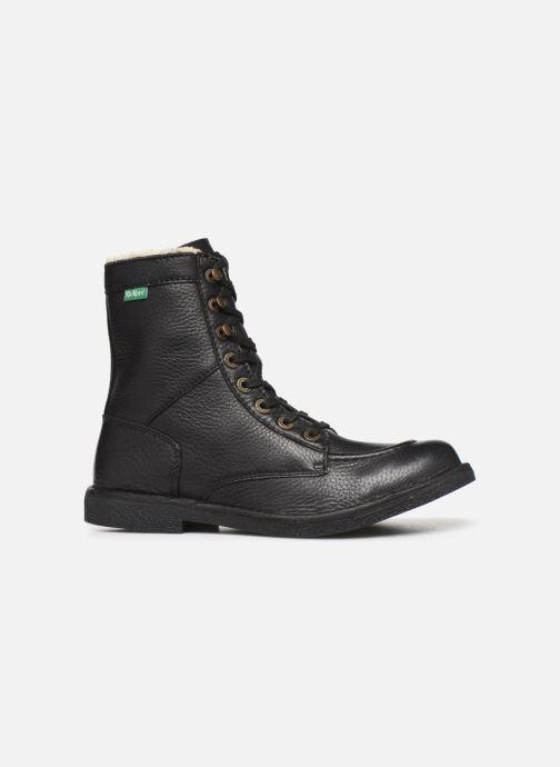 Boots en enkellaarsjes Kickers KICKSTONERY Zwart achterkant
