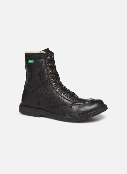 Boots en enkellaarsjes Kickers KICKSTONERY Zwart detail