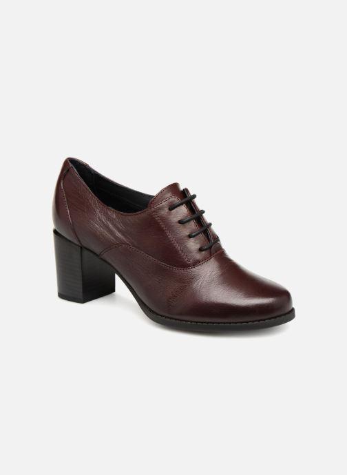 Zapatos con cordones Georgia Rose Relax Soft Vino vista de detalle / par
