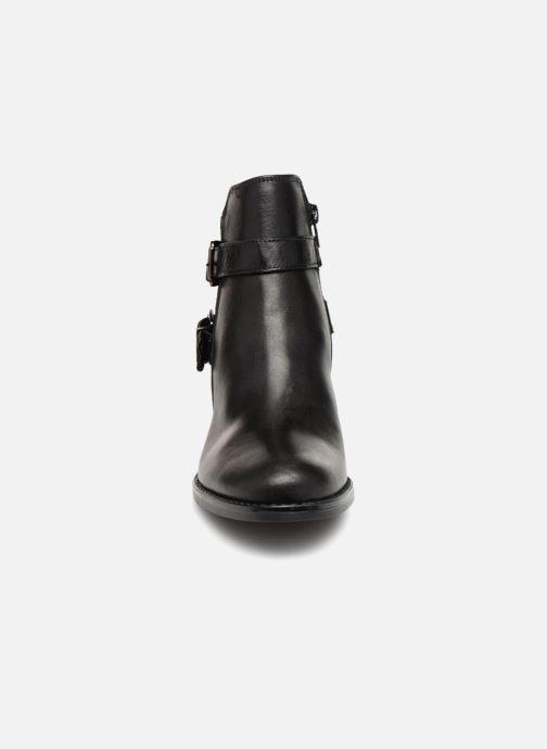 Bottines et boots Georgia Rose Raspail Soft Noir vue portées chaussures
