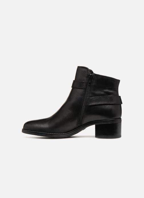 Bottines et boots Georgia Rose Raspail Soft Noir vue face