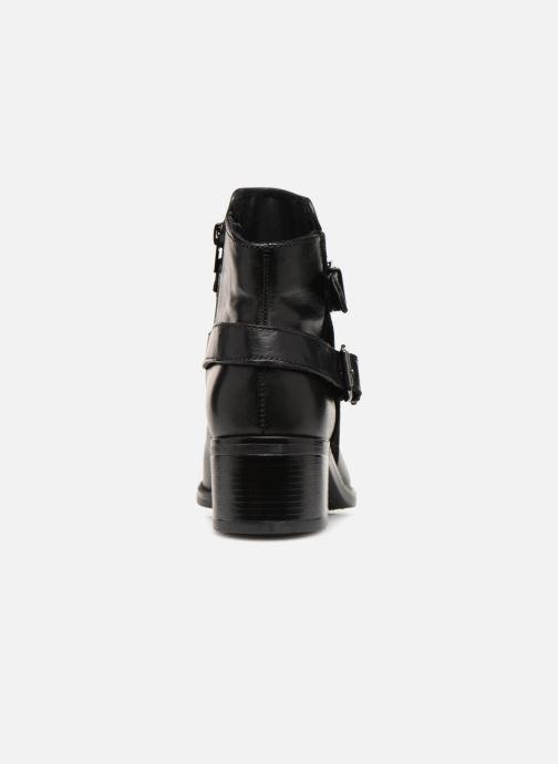Bottines et boots Georgia Rose Raspail Soft Noir vue droite