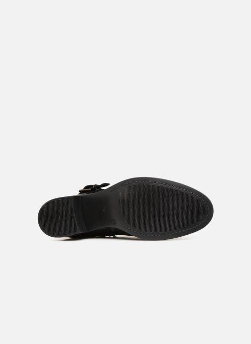 Bottines et boots Georgia Rose Raspail Soft Noir vue haut