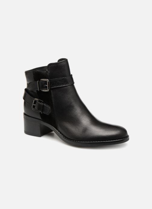 Bottines et boots Georgia Rose Raspail Soft Noir vue détail/paire