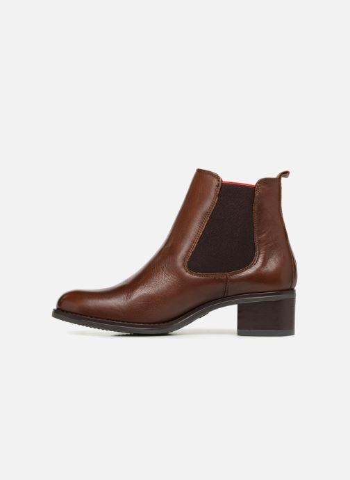 Bottines et boots Georgia Rose Riqueta Soft Marron vue face