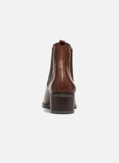 Bottines et boots Georgia Rose Riqueta Soft Marron vue droite