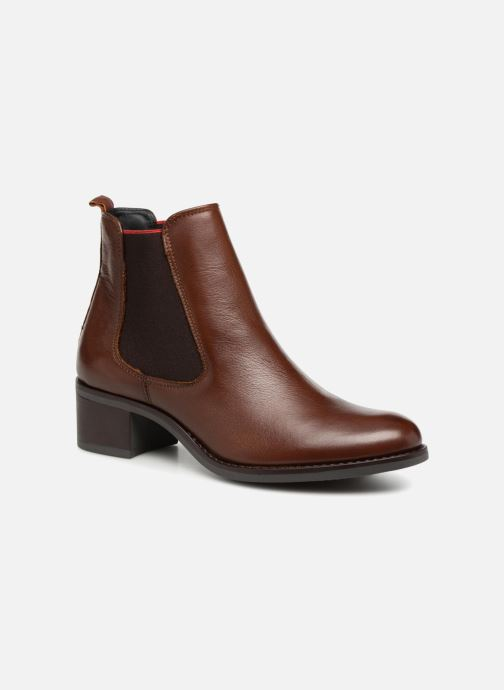Bottines et boots Georgia Rose Riqueta Soft Marron vue détail/paire