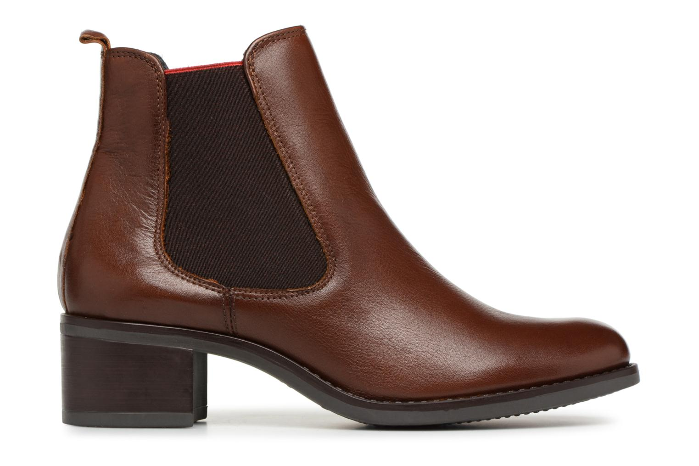 Bottines et boots Georgia Rose Riqueta Soft Marron vue derrière