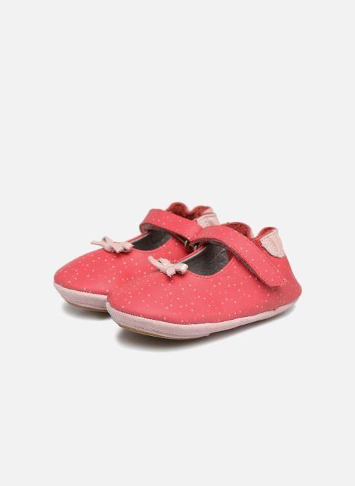 Pantofole Robeez DOTTIES Rosa immagine 3/4