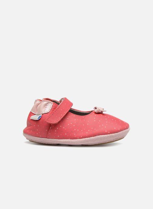 Pantofole Robeez DOTTIES Rosa immagine posteriore