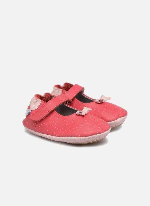 Pantofole Robeez DOTTIES Rosa vedi dettaglio/paio