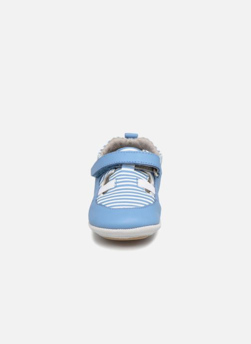 Slippers Robeez STRIPPY Blue model view