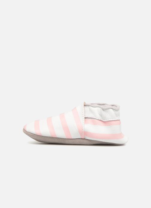 Pantofole Robeez BEACH Rosa immagine frontale